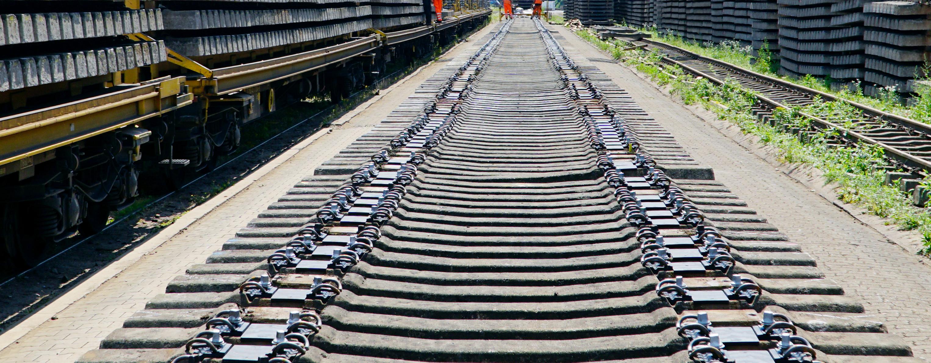 Händler Gleisbauprodukte Bahnen Sie den Weg