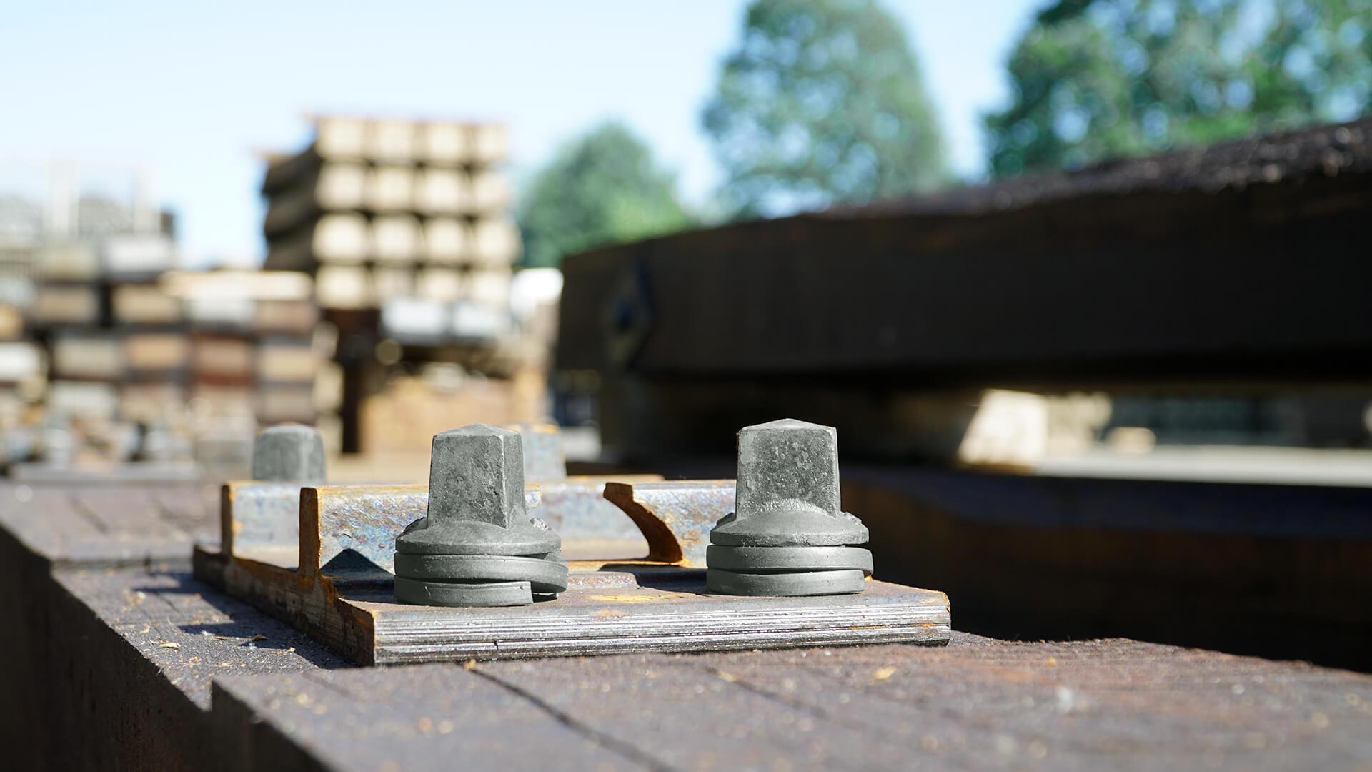 Schienenbefestigungsmittel für den Gleisbau